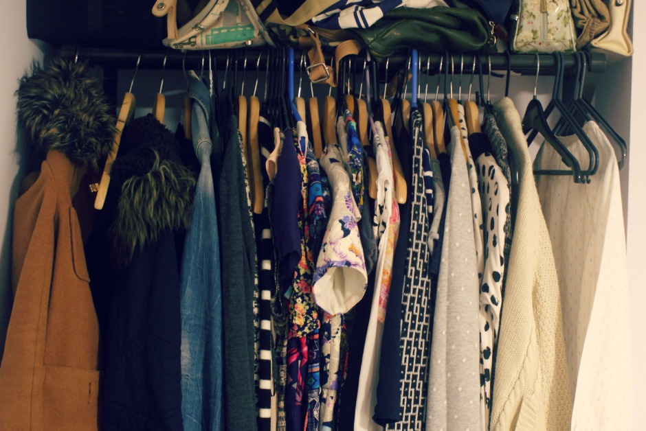 My cleaned out closet