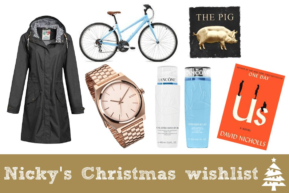 Nicky's Christmas wishlist | Everyday30.com