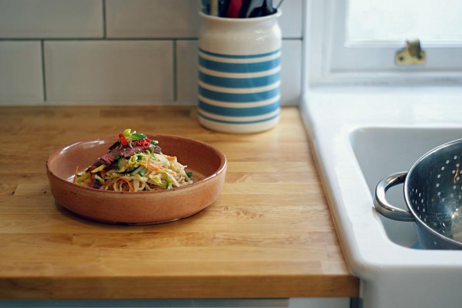 Easy noodle salad