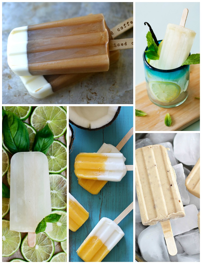 ice pop collage