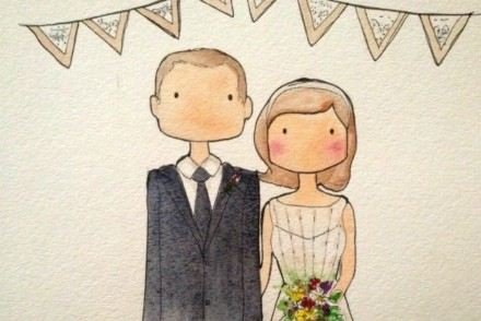 wedding illustration cropped