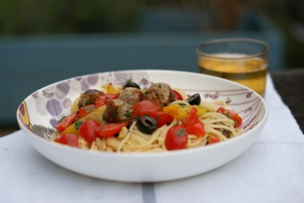 A summery sausage pasta recipe | Everyday30.com