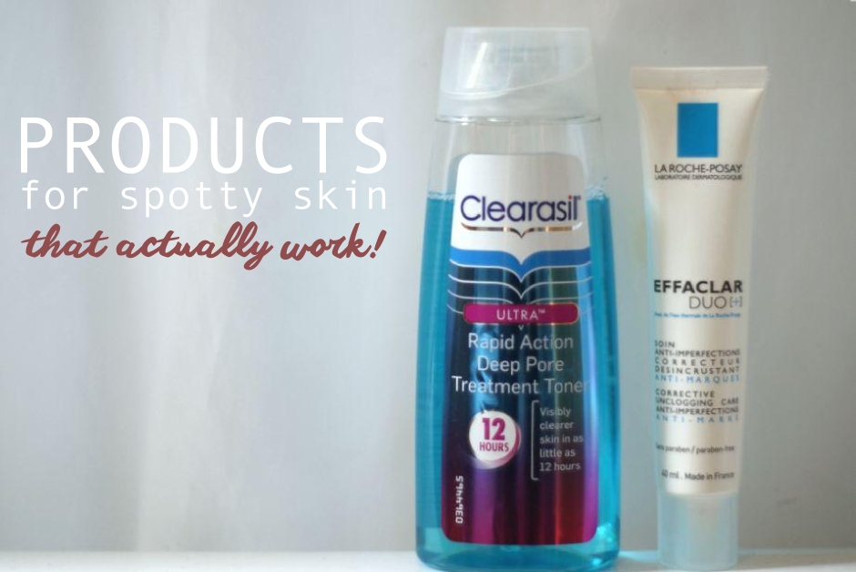 products for spots that really work