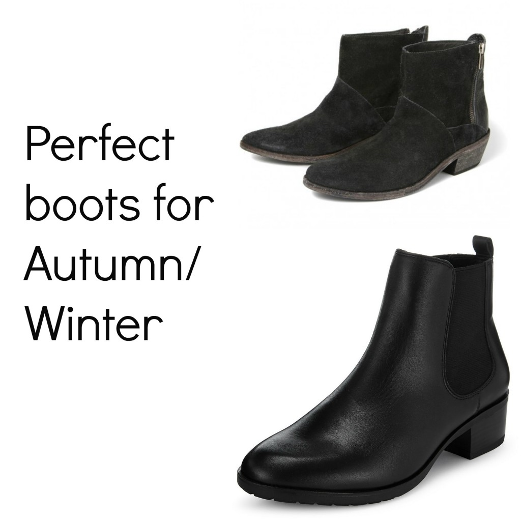 Ankle boots for autumn