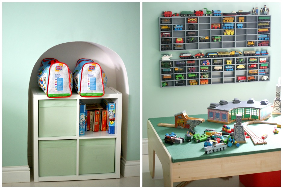 using ikea kallax for toy storage
