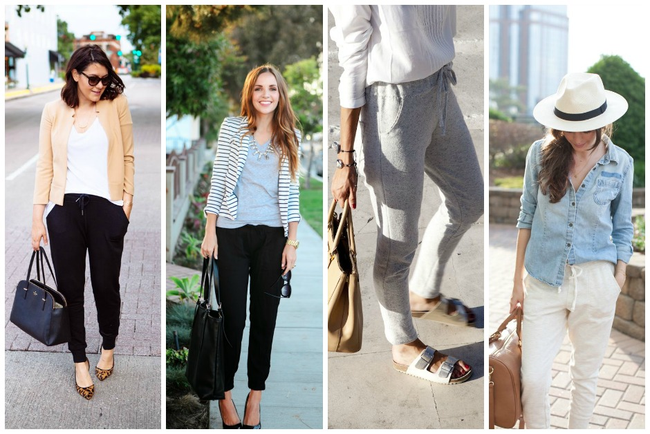 How to style sweatpants or joggers