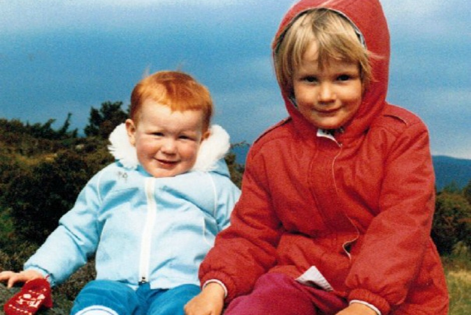 Nicky and her little brother