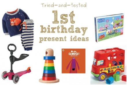 1st birthday present ideas