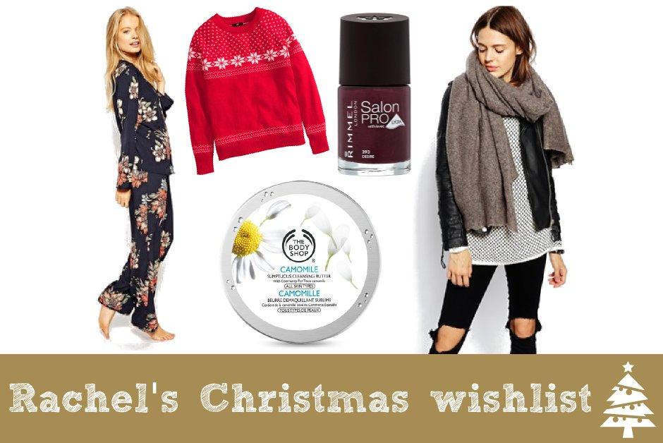 Rachel's Christmas wishlist