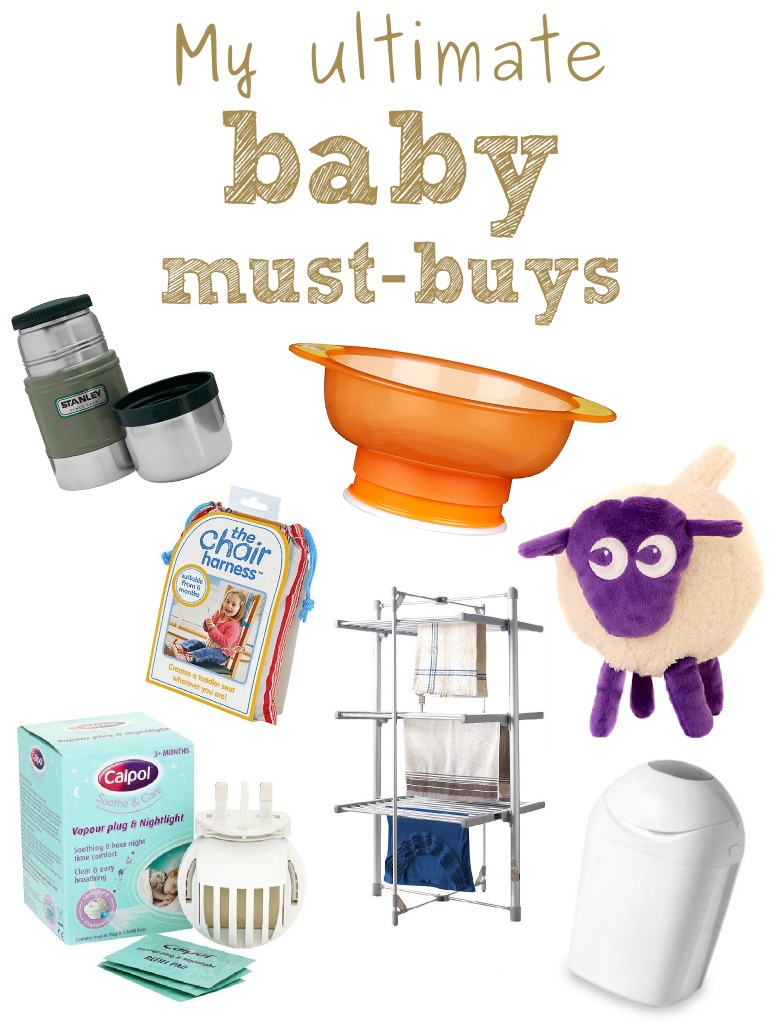 My 7 ultimate baby must-buys