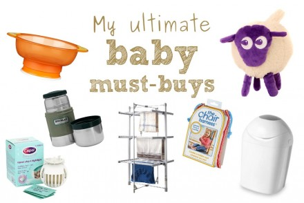 My ultimate 7 baby must-buys