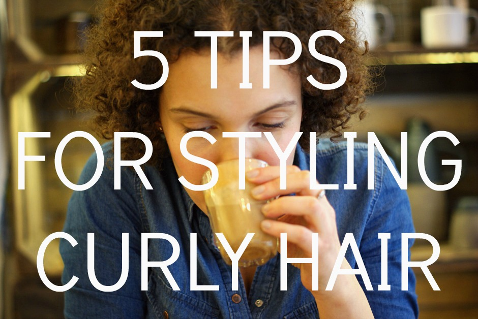 5 tips for styling curly hair