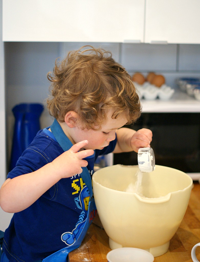George baking