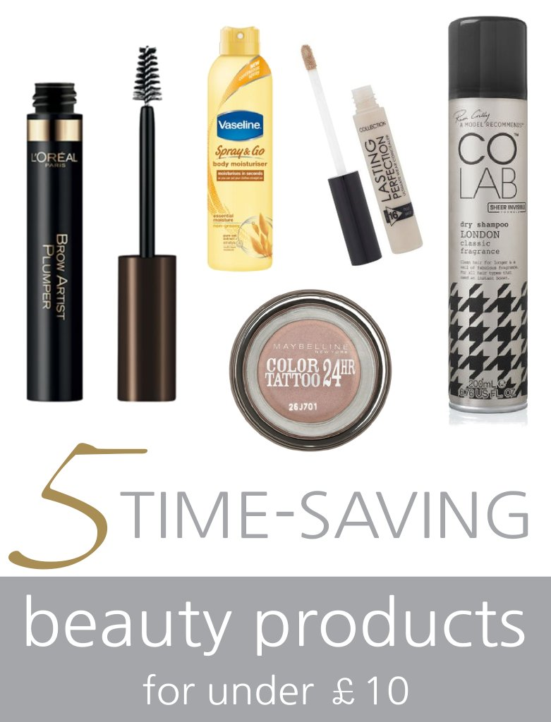 time-saving beauty products