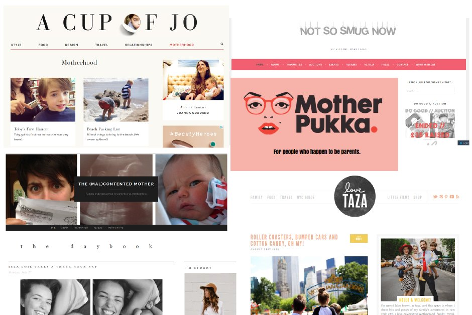Favourite parenting blogs