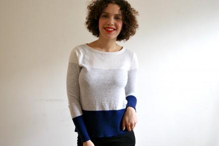 colourblock jumper