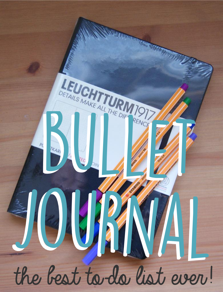 why the bullet journal is the best to-do list ever